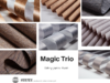 Nowa kolekcja tkanin Magic Trio