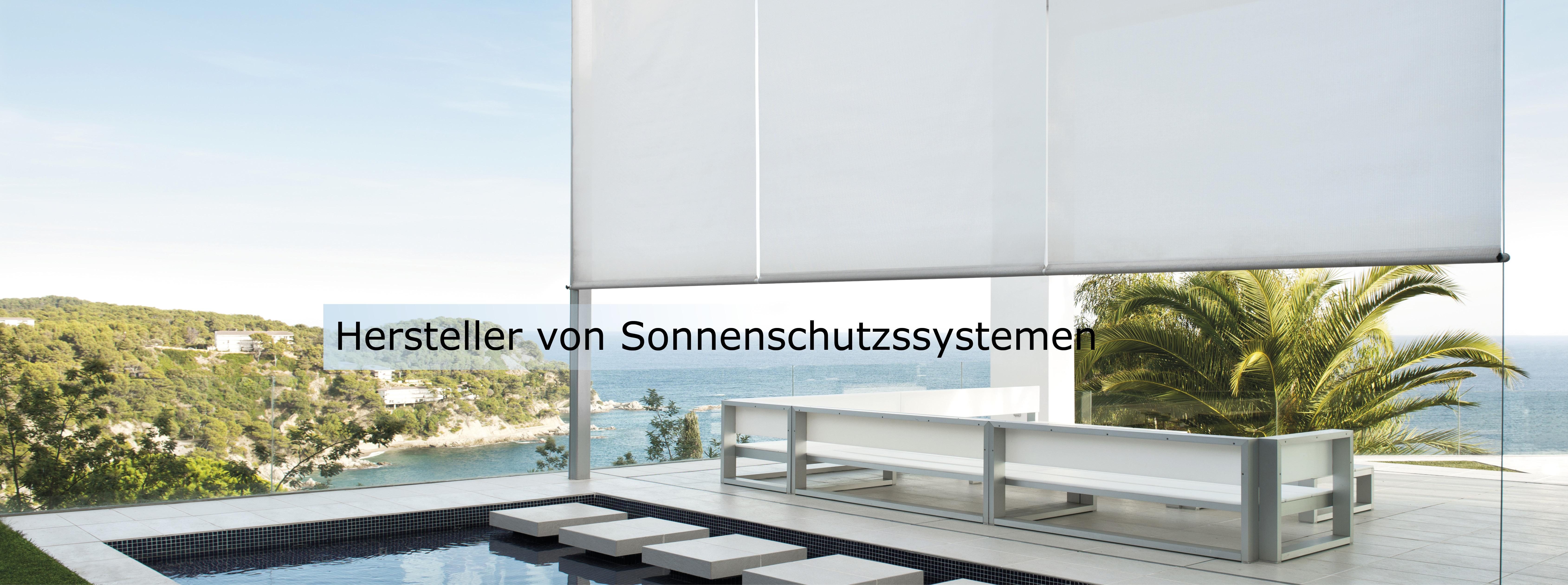 Hersteller von Sonnenschutzssystemen